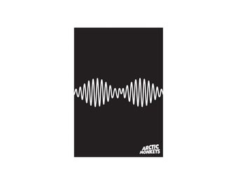 Arctic Monkeys Poster / Vinyl Decal / Arctic Monkeys Sticker / Indie Decor