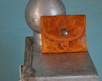 Greta - mini wallet purse change driver's license ID vegetal leather debit card