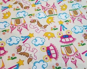 Unicorn / princess baby blanket, baby blanket, pram blanket, stroller blanket, play mat, unicorn blanket.