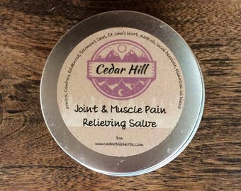 Joint & Muscle Pain Relieving Salve