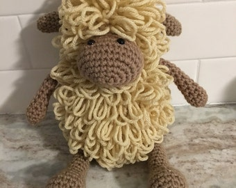 Loopy Lamb - Crochet