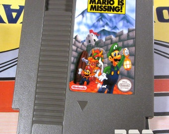 NES Mario is Missing FanMade Game