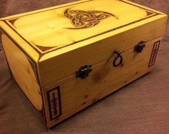 Viking Horns of Odin box