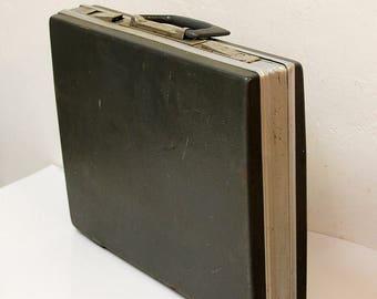 Soviet CEO Vintage Hard Shell Briefcase Laptop Case Retro Briefcase Vintage Attache Case Vintage Business Case Vintage Case Old Briefcase