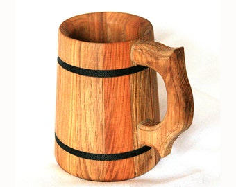 Beer mug Mug Wood mug Groomsmen gift Birthday gift Wooden beer mug Wood beer mug Wedding gift Groom gift  Wooden mug Usher gift Grooms gift