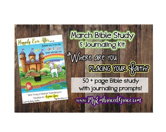 March's Featured Bible Study and Journaling Kit