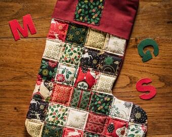 Christmas Stocking D