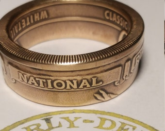 National Rifle Association of America challenge coin ring NRA