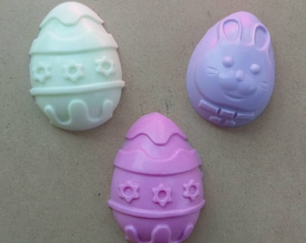 Easter Egg Soaps, Spring Soaps, Easter Soaps, Decorative Soaps, Baby Shower Favors, Party Favors