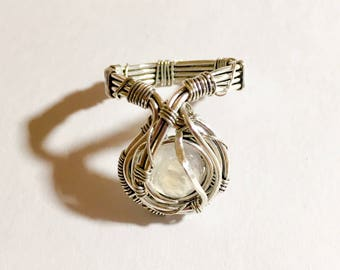 Rainbow Moonstone 925 Sterling Silver