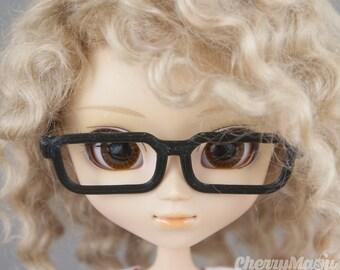 "Glasses for ""square"" Pullip doll"