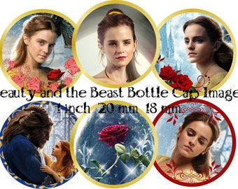 Princess Belle 1 inch 18 mm 20 mm Beauty and the Beast Round Images Princess Belle 1 inch Images Beauty and the Beast images Beauty images