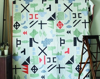LILLA - new quilt pattern by Lotta Jansdotter + Cheryl Arkinson + Stash Books