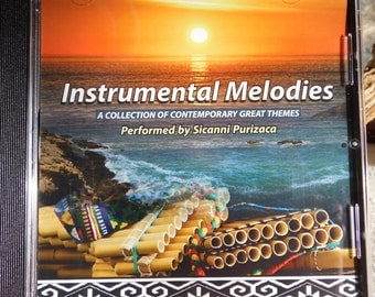 Instrumental Melodies CD - Andean Pan Flute music