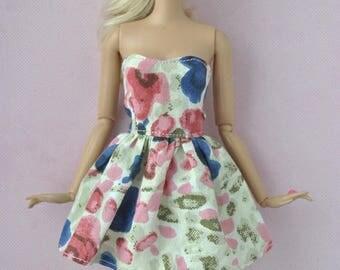 Beautiful handmade dress for Barbie,fashionistas dolls