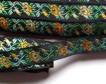 Jacquard Ribbon, 3/4 inch wide price per 1 yard