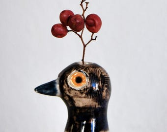 Small Ceramic Bird Sculpture