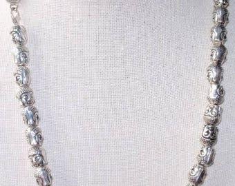 """19"""" Pharaoh Bead Necklace"""