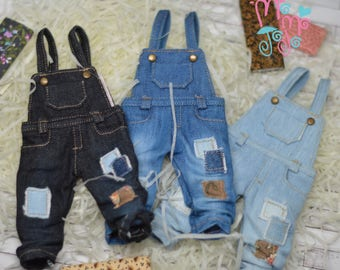 10% OFF Shabby Overalls for Blythe/ Pullip/ Azone/ Licca Blythe Clothing OMD A57