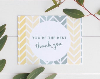 Thank You Card (10 Pack)