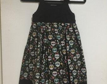 Black Sugar Skull Dress