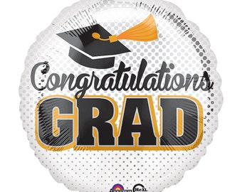 "17"" Congratulations Grad Balloon"