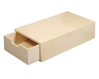 Wooden storage chest with pull-out tray code: RAY-3362601000