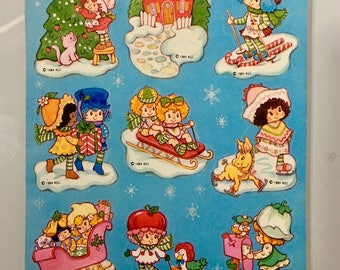 Vintage Strawberry Shortcake Stickers