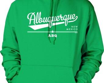 Albuquerque, New Mexico, ABQ Hooded Sweatshirt, NOFO_00911