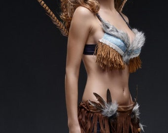 Native American/ Tribal / Rave Outfit/ Skirt Only