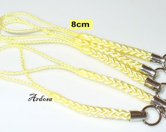 5 phone straps yellow 80 mm (K300)