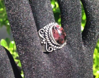 Eudialyte Ring Size 9 20% OFF