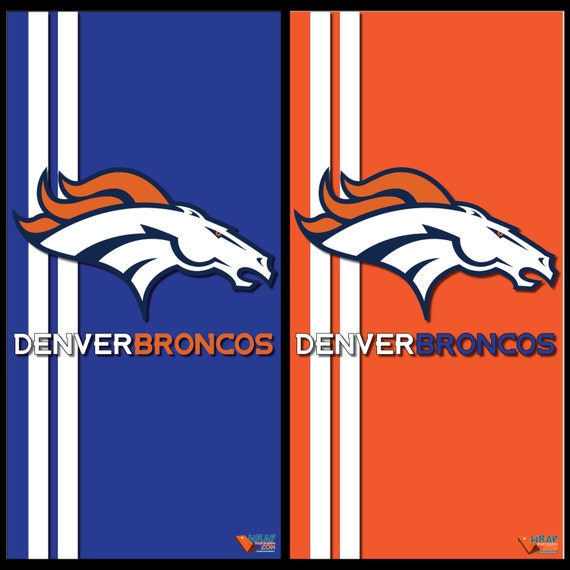 Denver Broncos Home And Away Cornhole Wraps By Wrapitandslapit