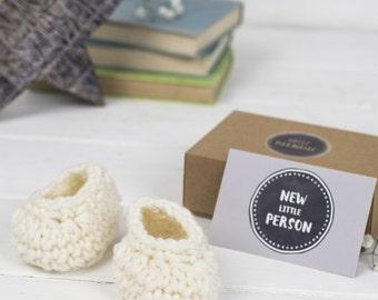 New Baby Gift Merino Baby Booties