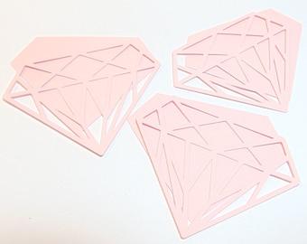 Diamond Cut Out Die Cut Set of 5