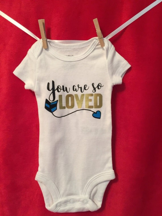 "Harry Potter inspired onesie ""You are so Loved"", Boy or Girl baby gift"