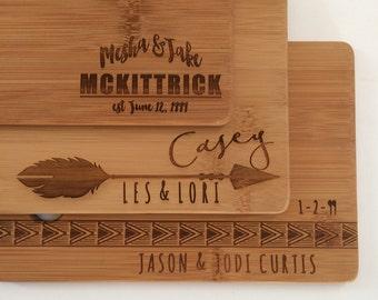 Cutting Board Personalized Cutting Board Couple Cutting Board Custom Cutting Board Engraved Cutting Board Wood Cutting Board Wedding Gift