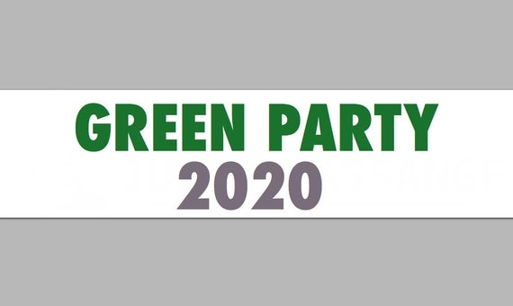 Items similar to Green Party 2020 Presidential Election ...
