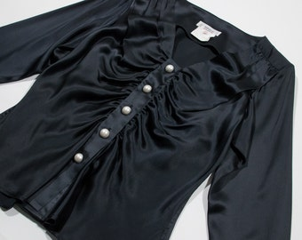 YVES SAINT LAURENT - silk blouse