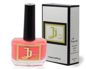 JJ Custom Colour Summer Coral - Coral nail polish