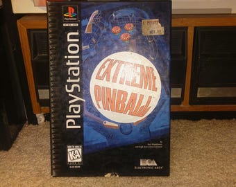 Extreme Pinball - PS1  in (Long) box: Game & Box