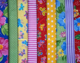 Sunday in the Park by Piece O' Cake Designs for P&B Textiles - Fat Quarter Bundle - 9 pieces