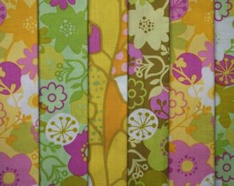 Wildwood by Erin Mcmorris for Free Spirit - Quarter Yard Bundle - 6 pieces