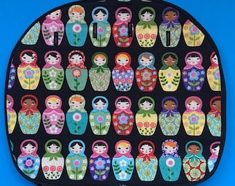 Matryoshka Rocketscientry Handbag Cover