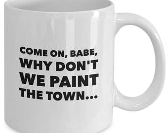 ALL THAT JAZZ - Chicago the Musical Inspired Coffee Mug - Broadway Fan Gift - 11 oz white coffee tea cup