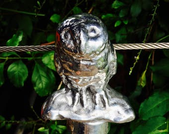 Owl Handled Walking Stick by CustomMadeCastings