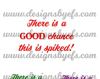 Spiked Coffee File, Coffee Mug File Funny SVG File Humorous File Relationship Status DXF File Funny Alcohol File