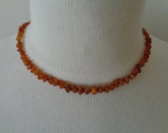 100% High Quality RAW Baltic Amber Teething Necklace For Baby ORGANIC Natural Anti Inflammatory Reduce Teething Pain Eczema Rash Drooling