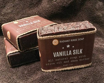 Vanilla Silk Goat Milk Handmade Soap