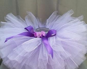 12-24 Months Baby Tutu // Lilac Toddler Tutu // Purple Baby Tutu